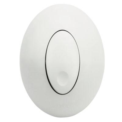 Conmutador Sobrepuesto 10A Blanco