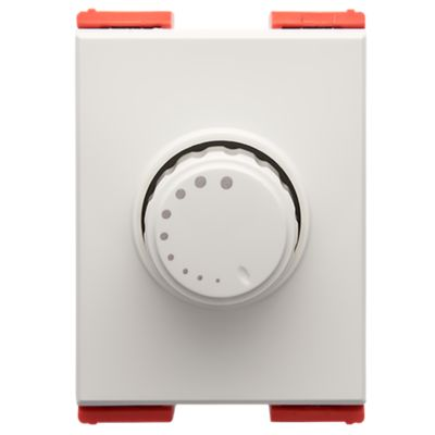 Dimmer Plura 1 Toma 36mm Blanco