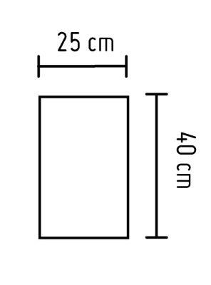 Cerámica Nápoles Beige 25x40cm 1.83m2