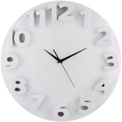 Reloj 3D Go 50X50cm Blanco