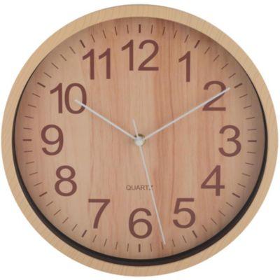Reloj Wooden 29X29cm Natural