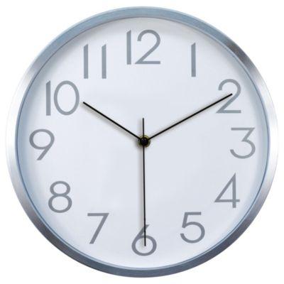 Reloj Cool 30X30cm Plata