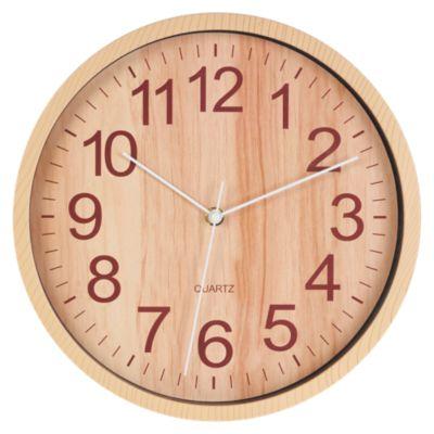 Reloj Wooden 30cm Dorado