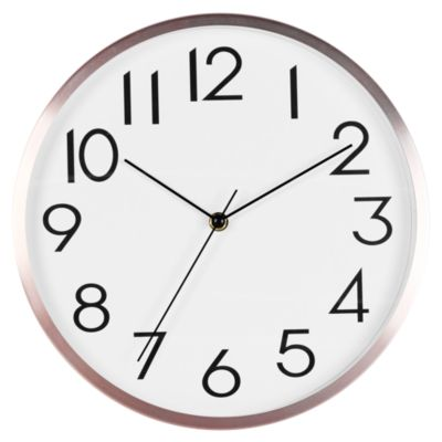 Reloj Wooden 30cm Rose