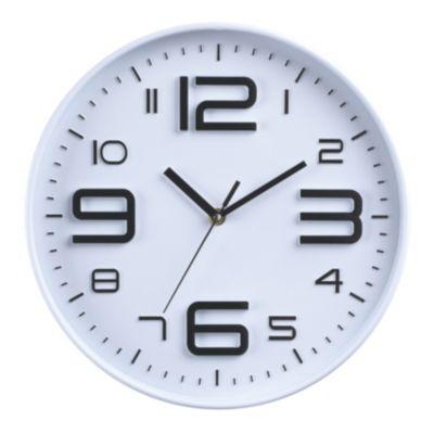 Reloj Wooden 30cm Oscuro