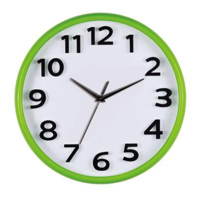 Reloj Chromo 26x26cm Verde