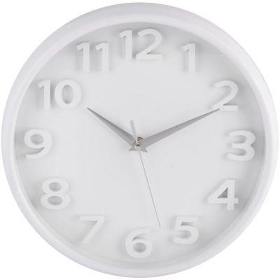 Reloj Chromo 26x26cm Blanco