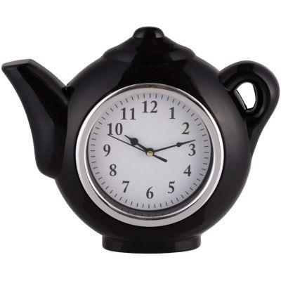 Reloj Cocina Tetera Roja