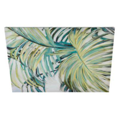 Cuadro Canvas Hojas Palma 60x40cm