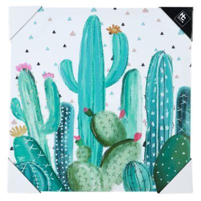 Canvas Cactus 40x40cm