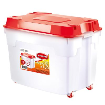 Mega caja 150L Blanco