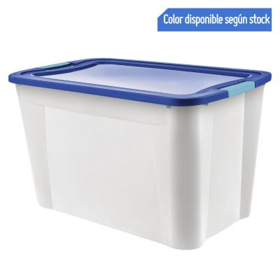 Caja Ultraforte 120L Transparente