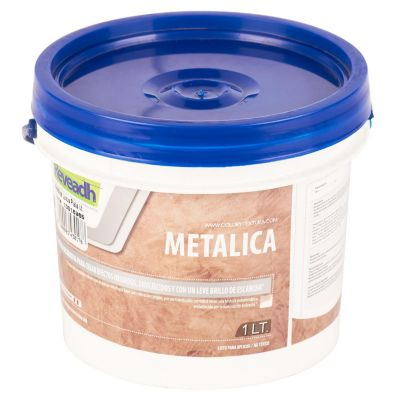 Metalica Luxus Plata 1L