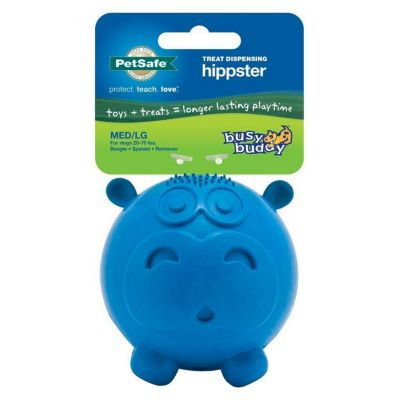 Juguete de Látex Hipopótamo Azul