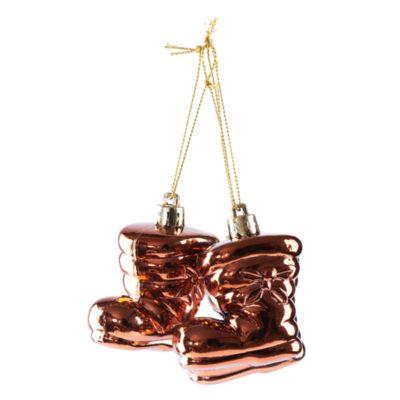 Adorno Botas Setx3 Chocolate 5cm
