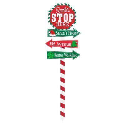Estaca Parada Rojo Verde 93cm