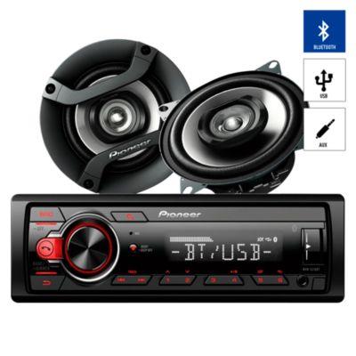 Autoradio Bluetooth/USB/AUX + 2 Parlantes MXT-S216BT