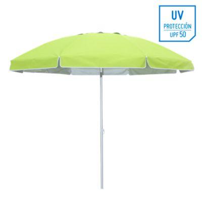 Quitasol Playa 2,5M UV+50  Verde