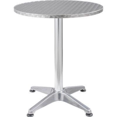 Mesa redonda 60 cm aluminio