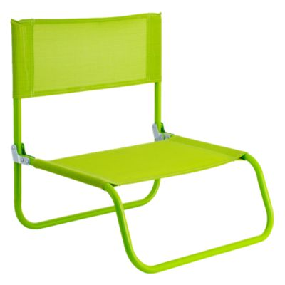 Silla Playa Beach Text Verde