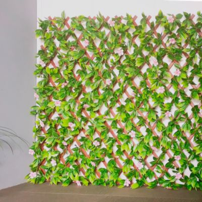 Cerco Extensible con Flores 100x200cm
