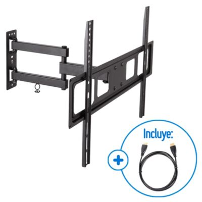Rack con Brazo Giratorio para TV 23-70'' + Cable HDM
