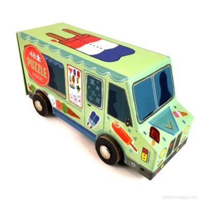 Rompecabezas camión de helados