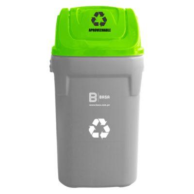 Tapa para residuos generales 40x40cm Verde