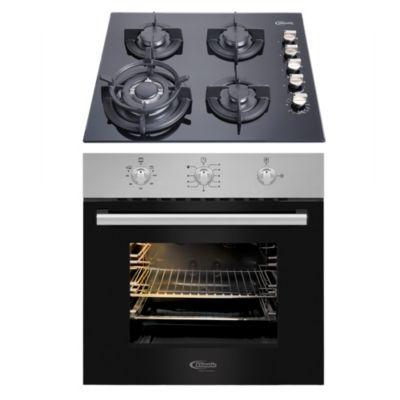 Combo Cocina Empotrable Gia X + Horno a Gas Lubeck-BC