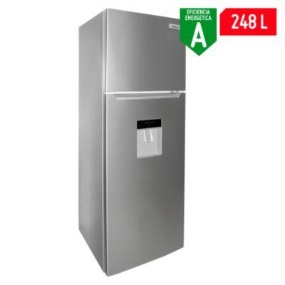 Refrigerador con Dispensador de Agua No Frost 248L Inox