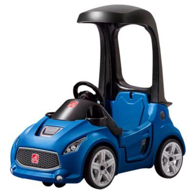 Carrito turbo coupe azul
