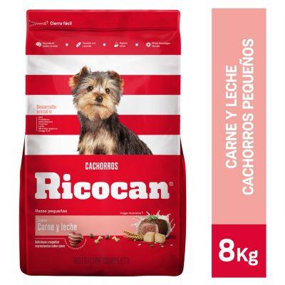 Carne y Leche Cachorros Razas Pequeñas 8kg
