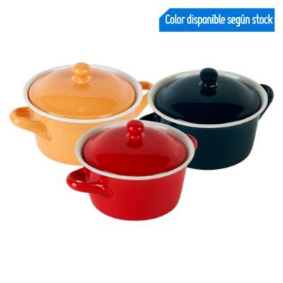 Bowl con Tapa 300ml Colores