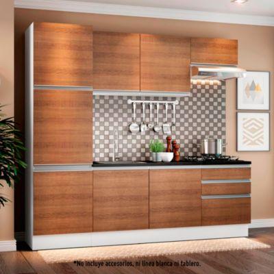 Mueble de cocina Modular Glamy 240 cm