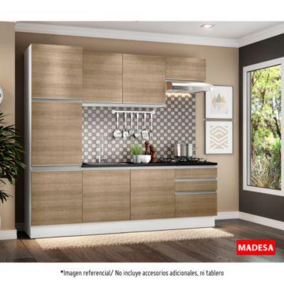 Mueble de cocina Modular Glamy Sara 240 cm