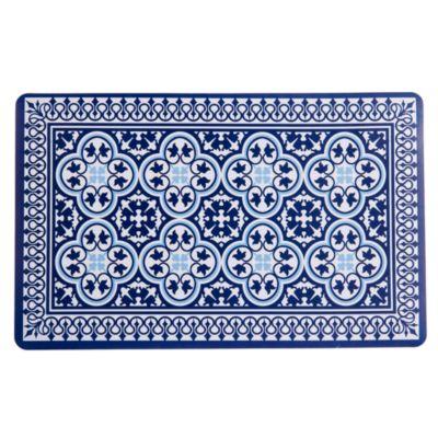 Individual Morocco 29x43cm Azul