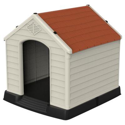 Casa de Perro Razas Pequeñas 66x73x69 cm