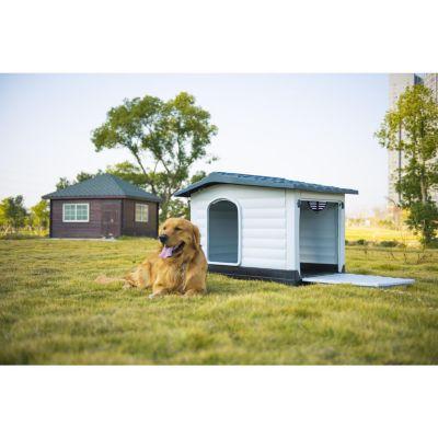 Casa perro plástico c/lado