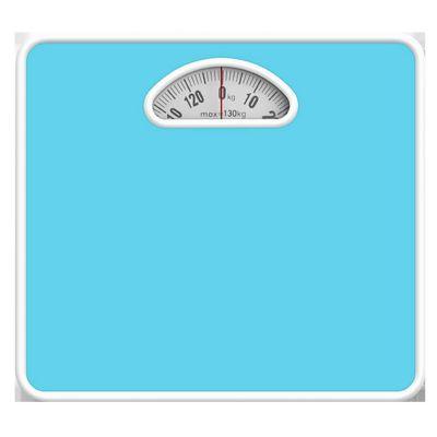 Balanza Mecánica 130kg Celeste