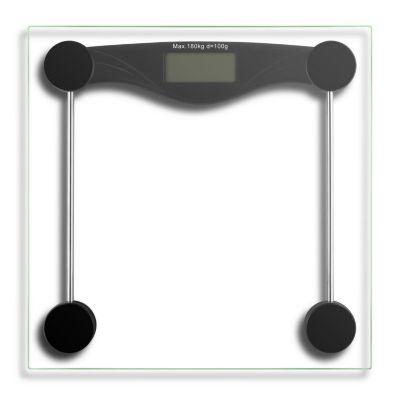 Balanza con Visor LCD 180kg Negro
