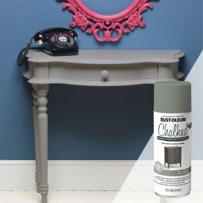 Pintura tizada para muebles Chalked Gris Campestre 340G