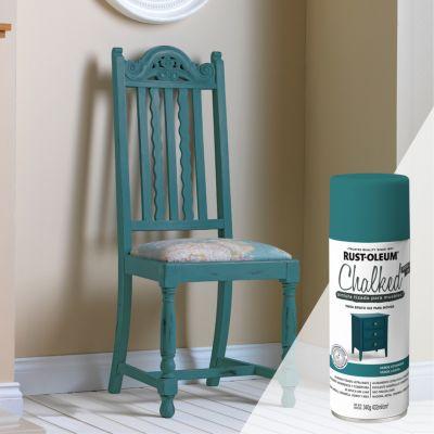 Pintura tizada para muebles Chalked Verde Estanque 340G
