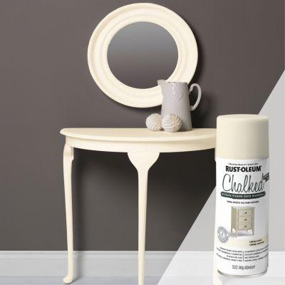Pintura tizada para muebles Chalked Crema Gasa 340G