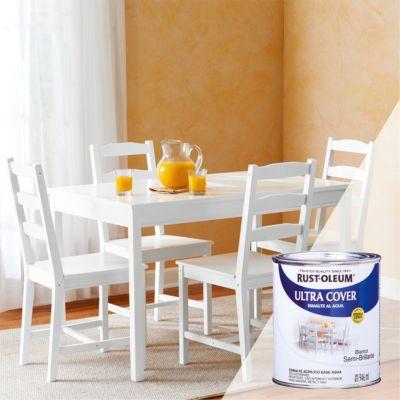 Esmalte al Agua Ultra Cover Blanco Semi-Brillante 0,946L