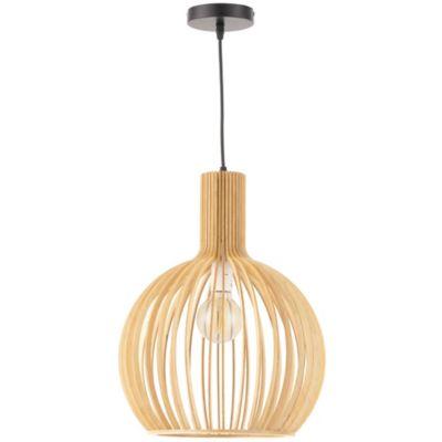 Lámpara Colgante Natural Naturelle 1 Luz E27