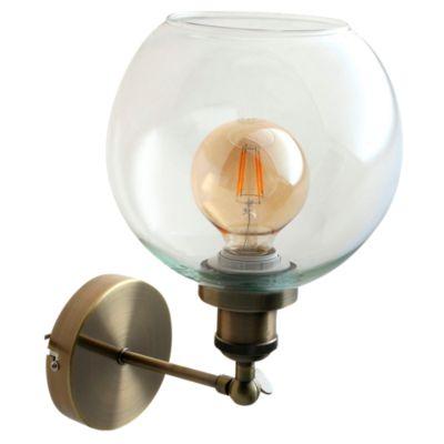 Aplique Asti 1 luz E27 bronce