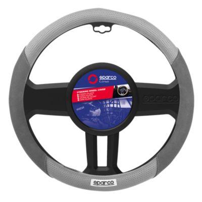 Cubre Volante para Auto Negro/Gris