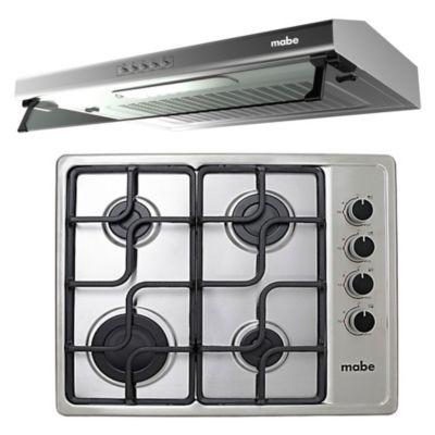 Combo Cocina a Gas CMG6044LC-OPE + Campana Empotrable CMU6020PIO