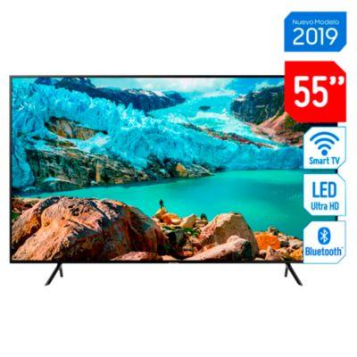 "Televisor Samsung LED 55"" UHD 4K Smart TV UN55RU7100GXPE"
