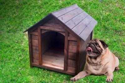 Casa para perro Madera Mediana